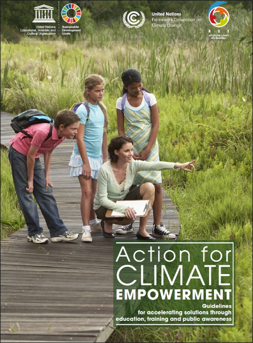 "UNESCOおよびUNFCCC ""Action for Climate Empowerment"" 2016年発行"